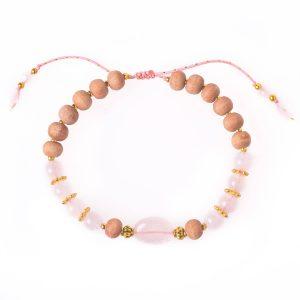 4-bohemian-style-mala-bracelets-rose-quartz-sandalwood