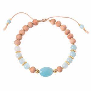 bohemian-style-mala-bracelets-amazonite-sandalwood-1