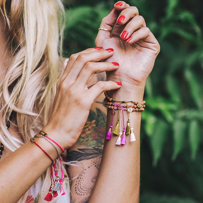 mala bracelets yoga